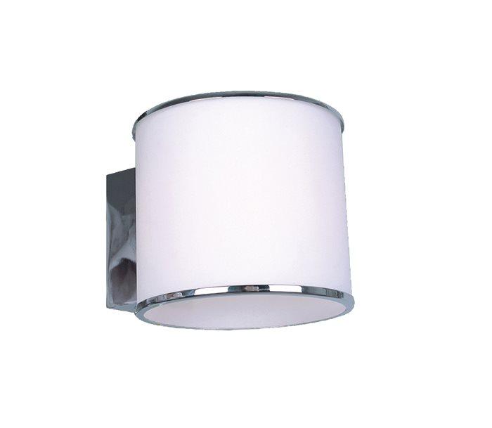 Lampenlux LED Wandlampe Wandleuchte Remus weiss G9 3W mittel