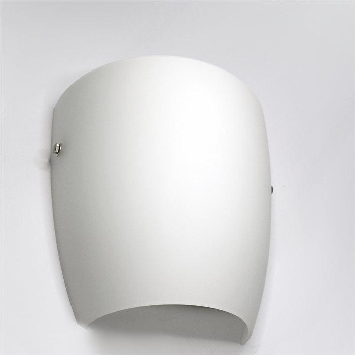 lampenlux led wandlampe wandleuchte ajbo up down stimmungslicht glas opal wei badleuchte 5257 led. Black Bedroom Furniture Sets. Home Design Ideas