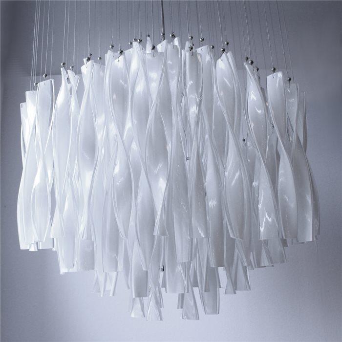 Lüster lenlux designer pendelle hängeleuchte zico chrom glas lüster