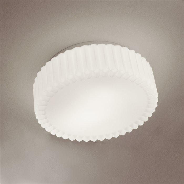 Lampenlux led aussenleuchte delta ip44 230v e27 38cm for Deckenlampe e27