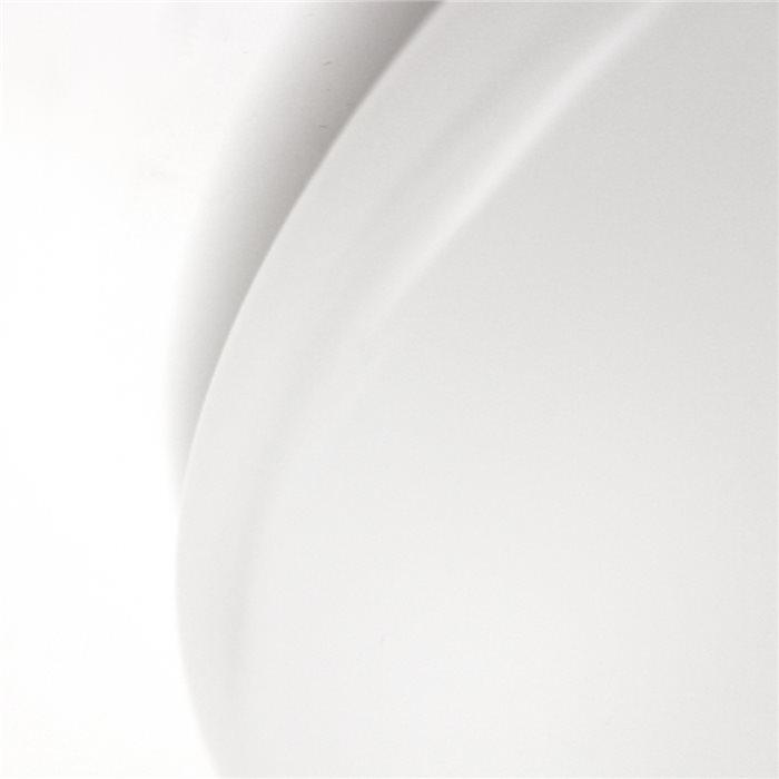 Lampenlux LED Deckenlampe Deckenleuchte Alvaro-Led Glasschirm Opal Abdeckung Ø: 30/37/48cm