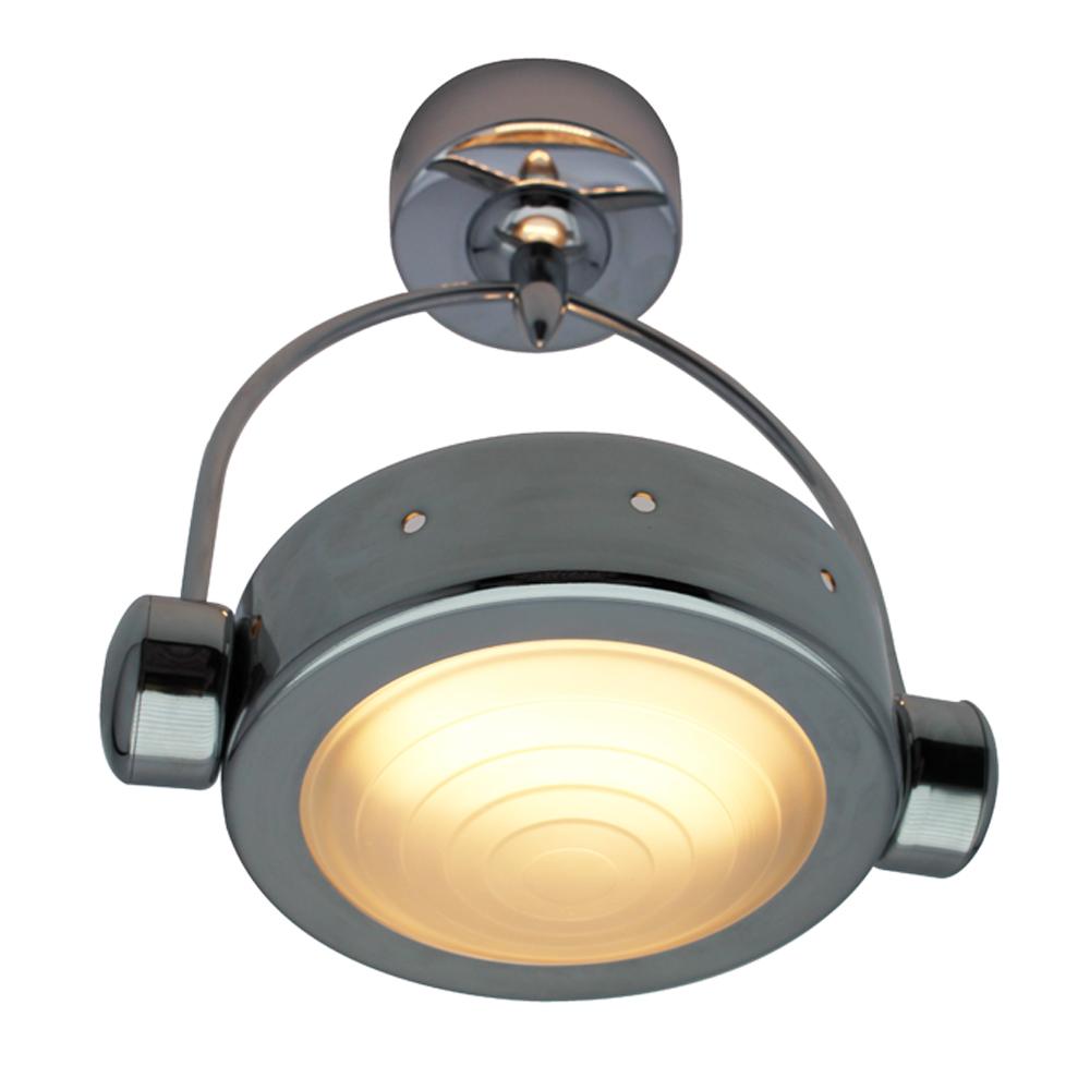 Lampenlux Deckenlampe Deckenleuchte Dino Chrom 230V 10W inkl. R7s LM