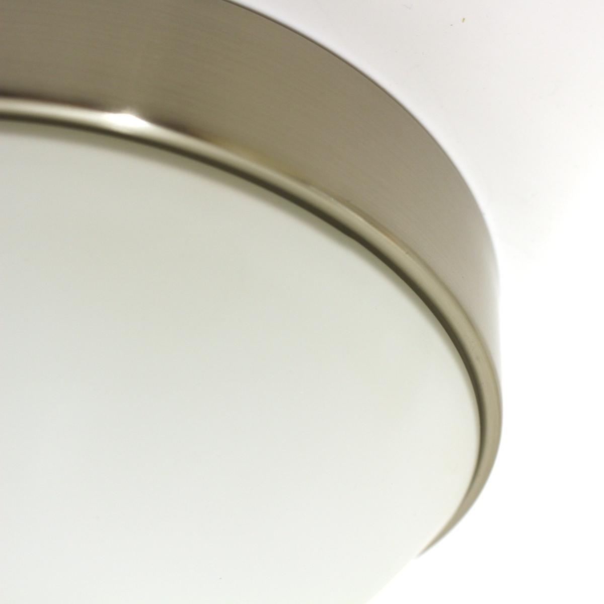 Lampenlux Deckenlampe Deckenleuchte Forbus Ø 19 cm mit Opalglas und Bajonettverschluss G9 40W 230V