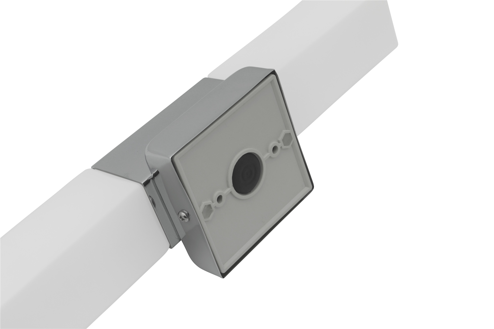 Lampenlux LED Wandlampe Akin Wandleuchte Spiegelleuchte Badleuchte 2flammig Alu 230V IP44
