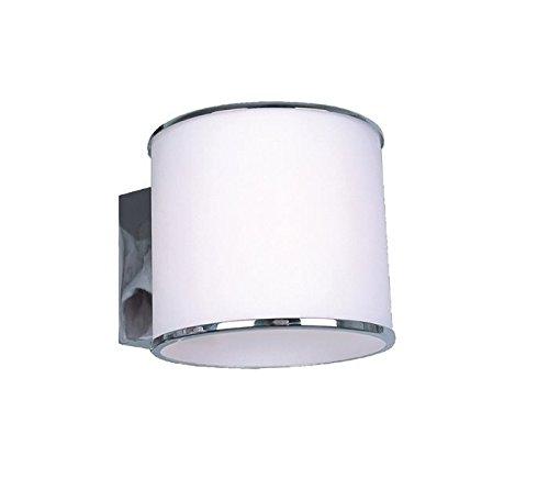 Lampenlux Wandlampe Wandleuchte Remus Rund Up Down Light Effektlampe weiss G9 groß
