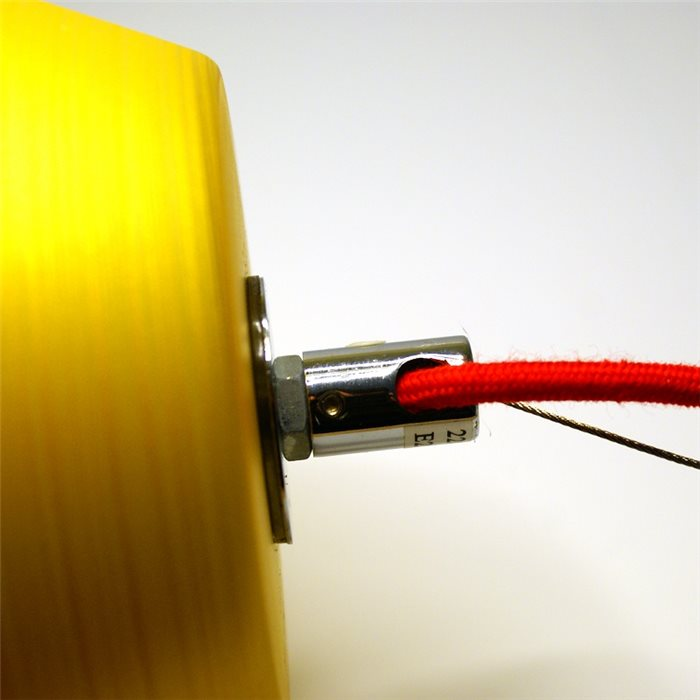 Lampenlux LED Pendelleuchte Biko Hängeleuchte Silber Gold Höhenverstellbar Chrom
