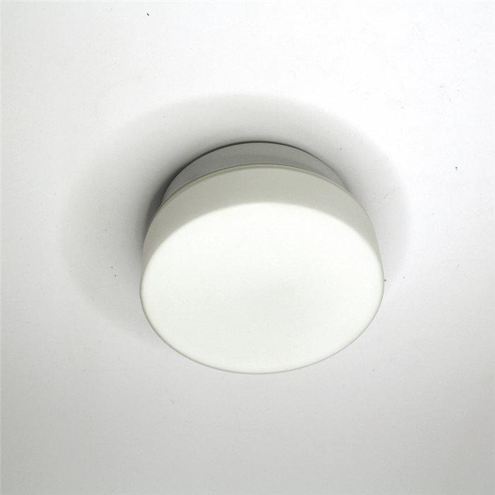 Lampenlux Deckenlampe Dan mit Glasschirm weiss Ø:11-40cm