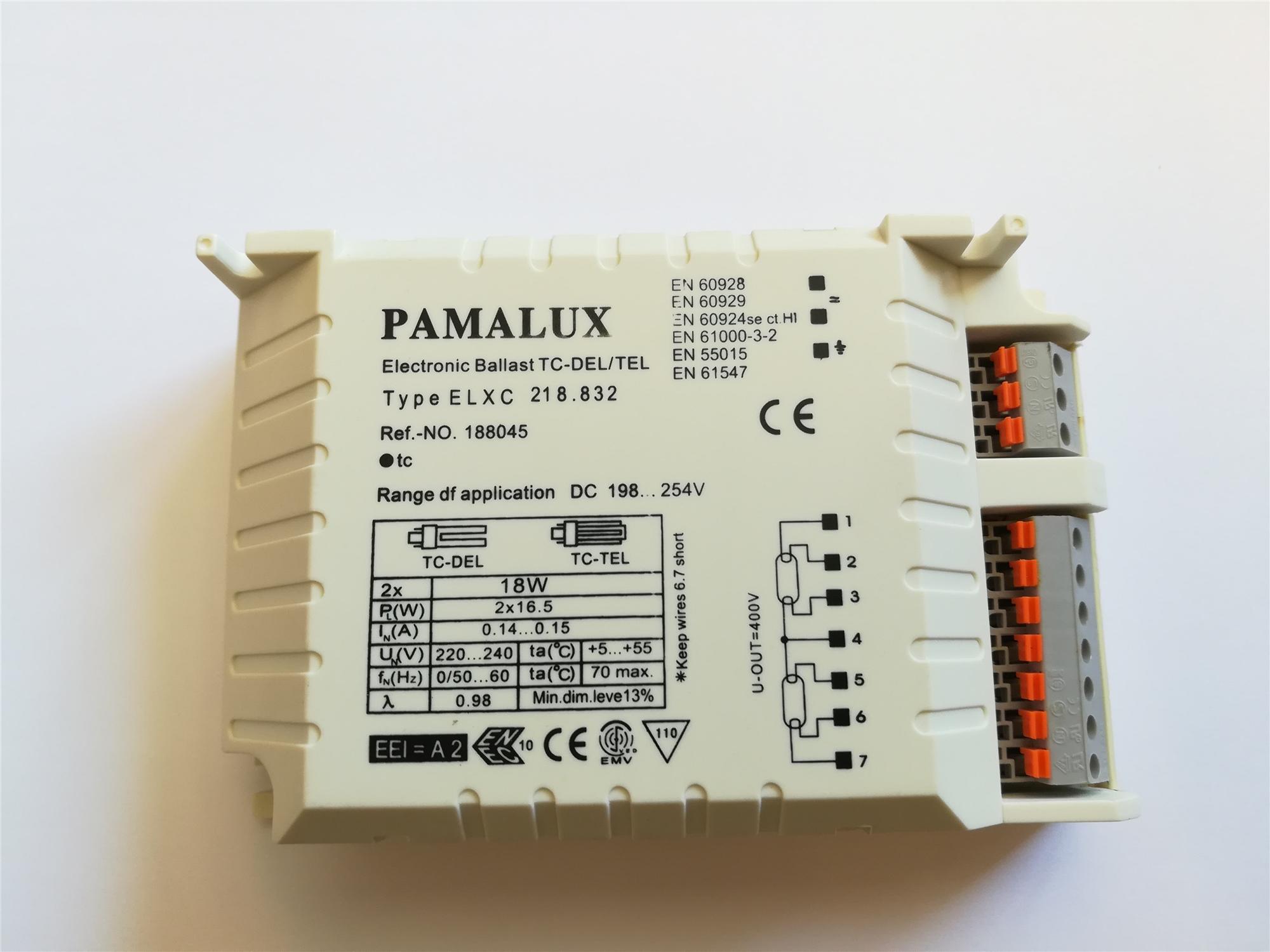 Lampenlux Elektrisches Vorschaltgerät EVG 2x 18W