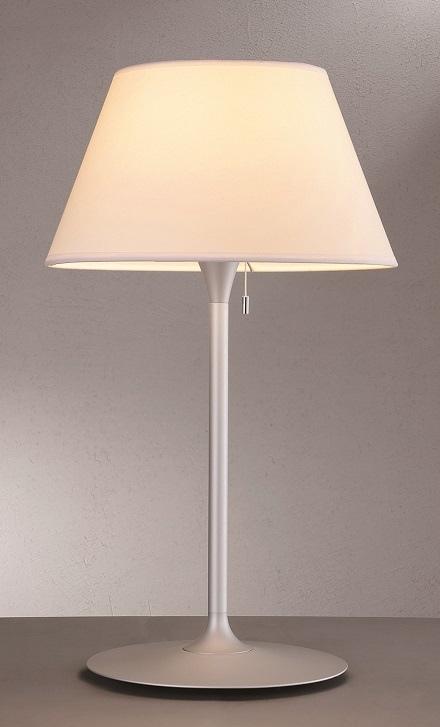 Lampenlux Tischleuchte Tischlampe Tischlicht Stehlampe Sabur 230V E27 40W Ø 35 cm mit Zugschalter