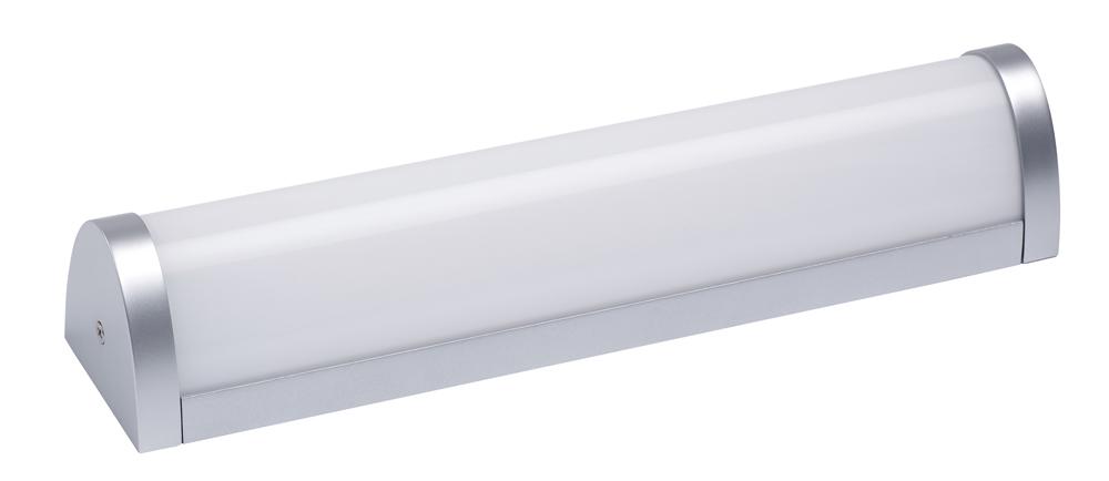 Lampenlux LED Wandlampe Naro Spiegelleuchte Badleuchte Unterbauleuchte Küchenlampe Aufbau 35cm