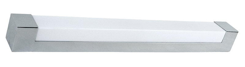 Lampenlux Wandlampe Knuckles Wandleuchte Badlampe Spiegelleuchte 230V Chrom T5