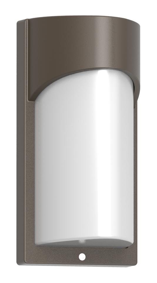Lampenlux Außenleuchte Jamia Aluminium Schwarz lm 6W LED 3000K IP54