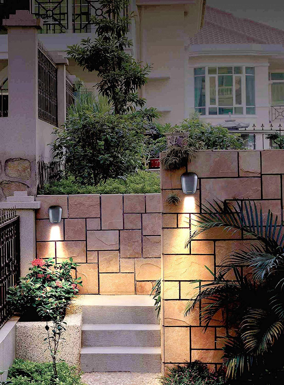 Lampenlux LED Up/Down Lampe Leuchte Wand Iman Schwarz Effekt Licht Aufbau Strahler Spot