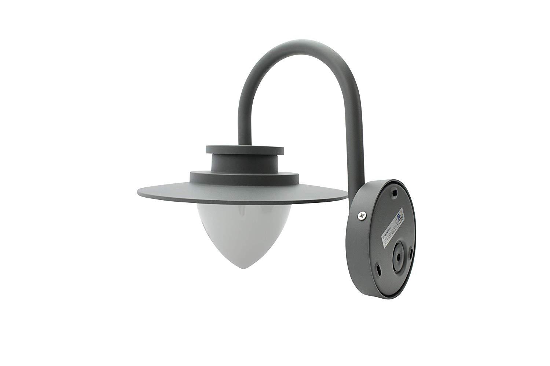 Lampenlux Außenleuchte Olivia 8,5W 3000K 450lm Wandlampe IP54