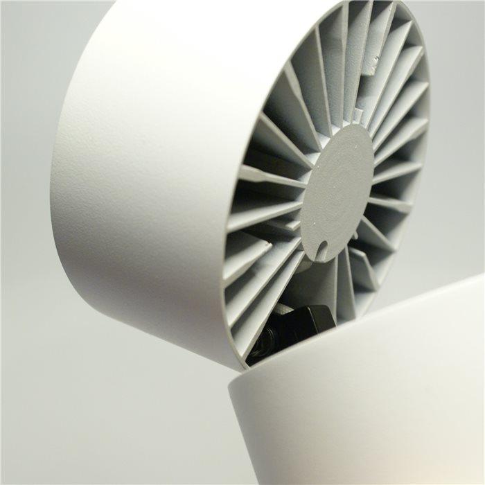Lampenlux LED Aufbaustrahler Aufbaulampe Aero Stimmungslicht weiß 14W Höhe 10cm