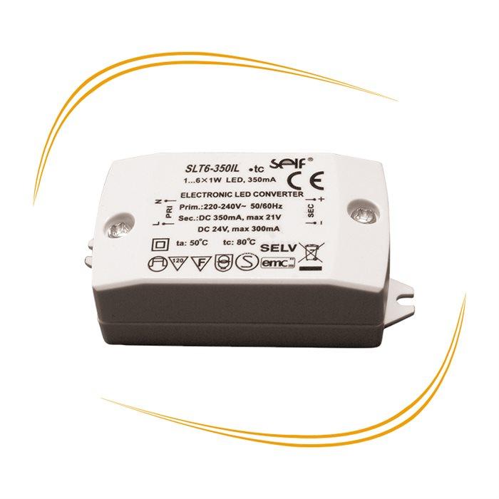 LED Trafo Transformator Treiber Driver 350mA konstant, bis zu 21V regelbar