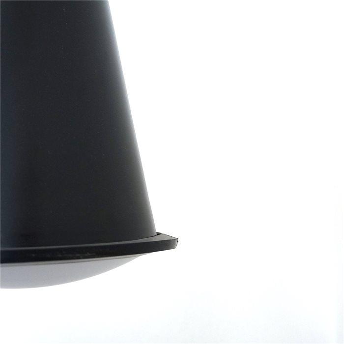 Lampenlux LED Pendelleuchte Baro Hängeleuchte Schwarz Bauhaus Höhenverstellbar