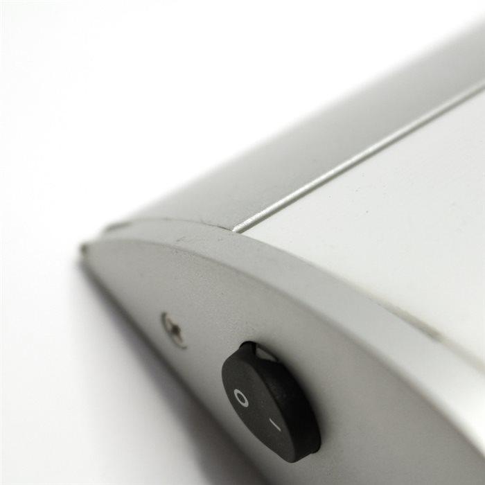 Lampenlux Wandlampe Spiegelleuchte mit Schalter Aischa 60cm Direktanschluss inkl Leuchmittel