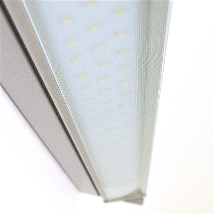 Lampenlux LED Unterbauleuchte Ajax Küchenleuchte Aufbaulampe Schwenkbar 35cm Schalter Grau