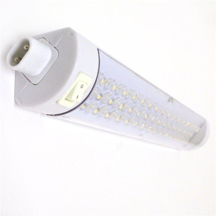 Lampenlux LED Unterbauleuchte Merlin Unterbaulampe Küchenleuchte Küchenlampe Aufbauleuchte Aufbaulampe Schalter Weiß 33cm