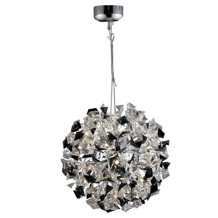 Lampenlux Design Pendelleuchte Zero Hängeleuchte Kristallampe Höhenverstellbar