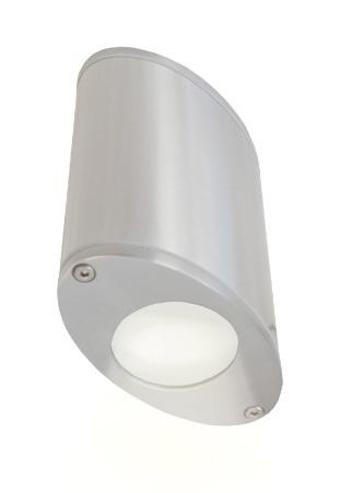 Lampenlux Außenwandleuchte Togal Aluminium Wandlampe IP44 Effektlampe Außenlampe Außenleuchte