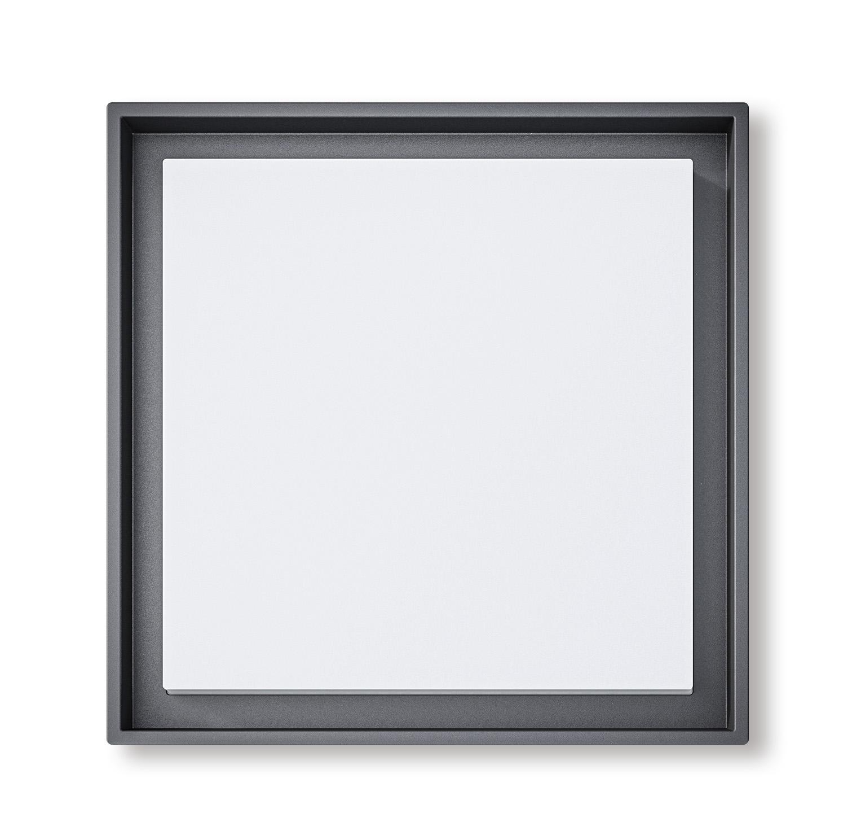 Lampenlux Außenleuchte Ryana Aluminium Schwarz 3000lm 30W LED 3000K IP54