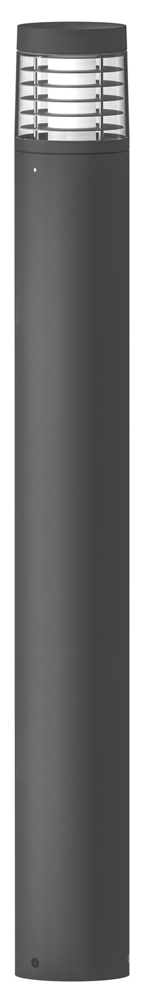 Lampenlux Außenleuchte Taurus Aluminium Schwarz 1500lm 20W LED 3000K IP54 Ø16cm