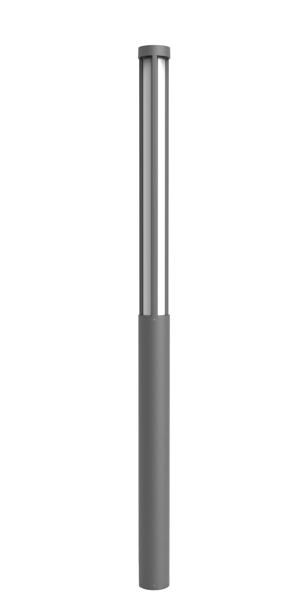 Lampenlux Außenleuchte Pollerleuchte Baleo Höhe: 2,5m Ø14.5cm 30W 2200lm IP54