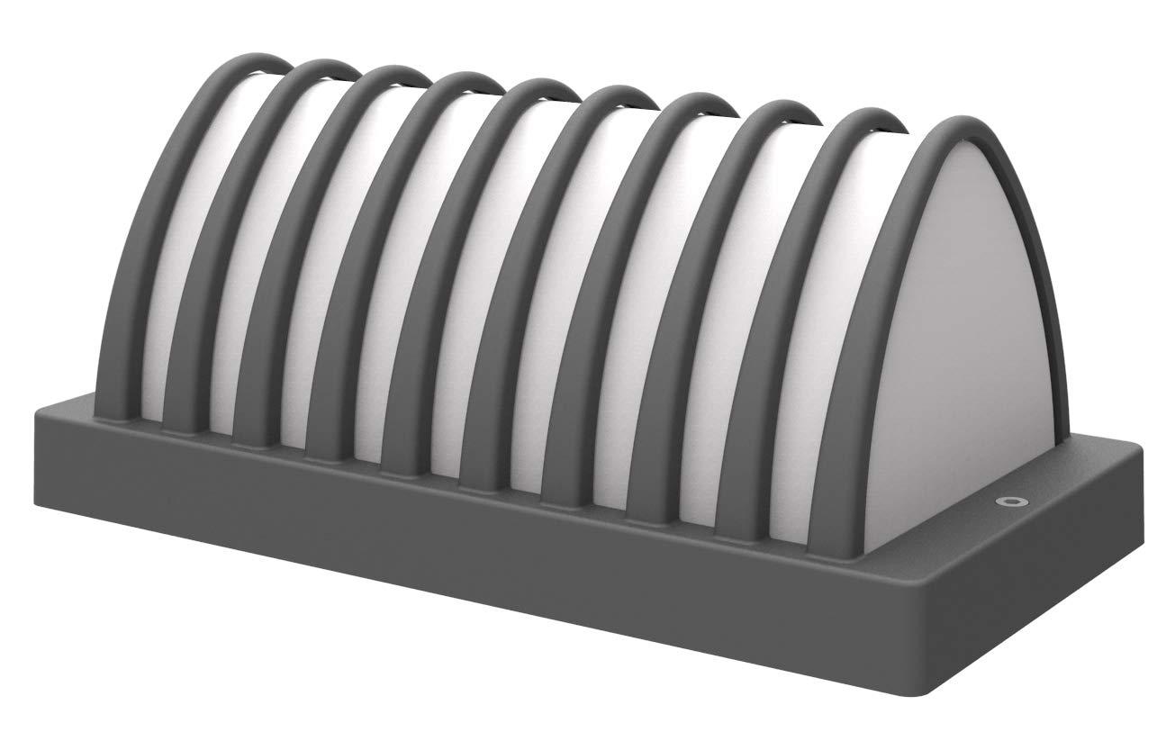 Lampenlux Außenleuchte Matilda Aluminium Schwarz lm 6W LED 3000K IP54