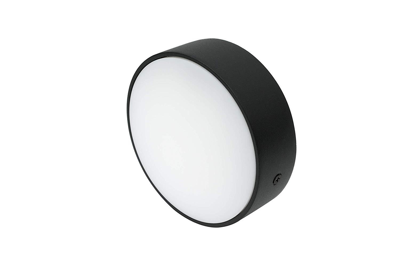 Lampenlux MINI RONDOS Deckenleuchte weiß/schwarz LED Deckenlampe WW
