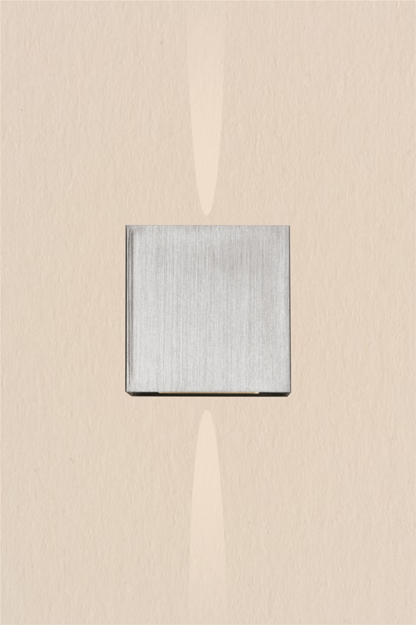 Lampenlux LED Up/Down Wandleuchte Wandlampe Amon schmal-schmal Stimmungslicht silber G9 4W