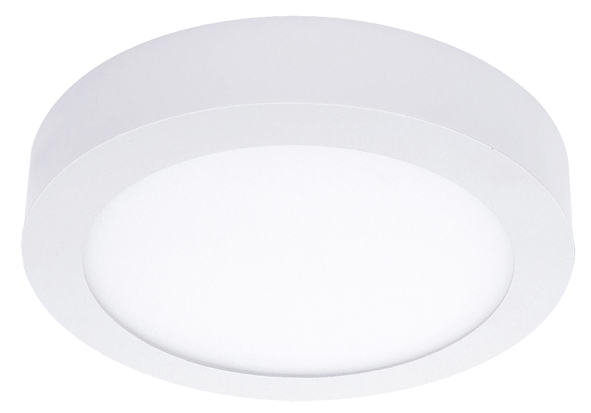 Lampenlux Ultraslim LED Panel Ramino Höhe:3,5cm Ø30cm Deckenlampe Deckenleuchte Weiß Rund Tagweiß