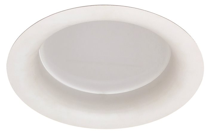 Lampenlux LED-Einbaustrahler Spot Leo rund Weiß 39W Ø26cm 230V rostfrei Inkl Trafo 3000lm