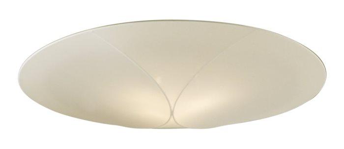Lampenlux Deckenlampe Raja Stoffschirm Rund EVG Energiesparlampe Ø45cm beige Stoff Schirm