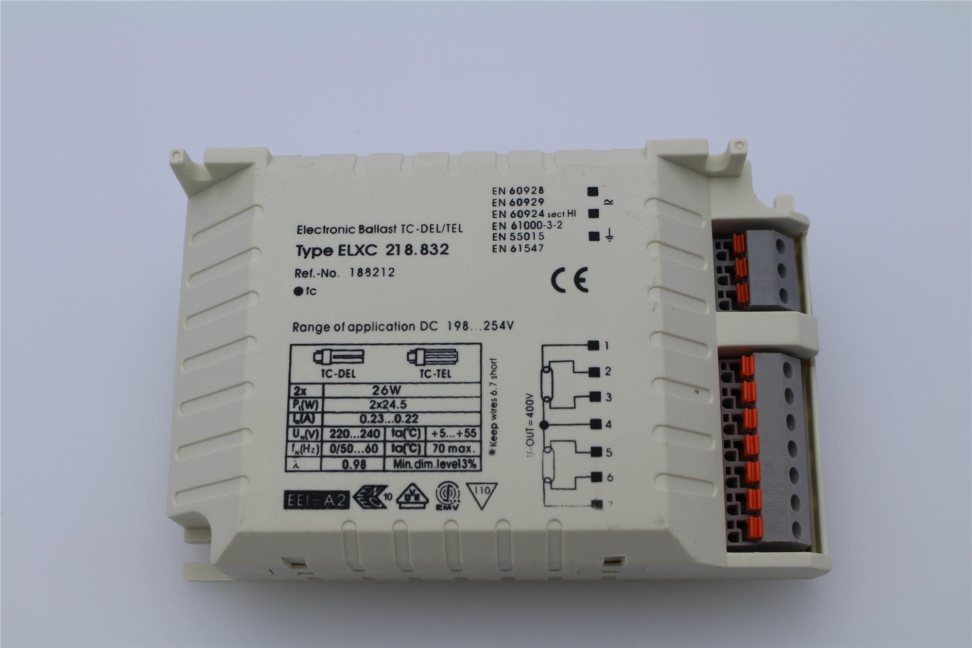 Lampenlux EVG 2x26W TC-DEL/TEL 230V