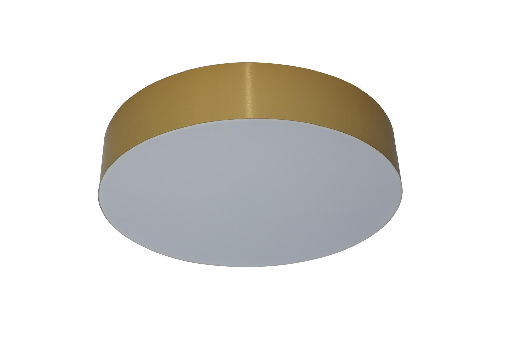 LED Lampenlux Deckenleuchte Goldy extra gold glänzend 24W Ø: 30/40/60 cm WW/TW