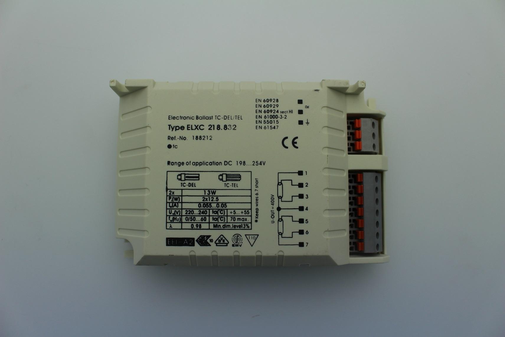Lampenlux Elektrisches Vorschaltgerät EVG 2x 13W