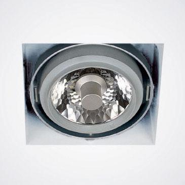 Lampenlux Einbaustrahler Deckeneinbauleuchte Deckendownlight Mules 1x CDM-R 111 weiß 35W