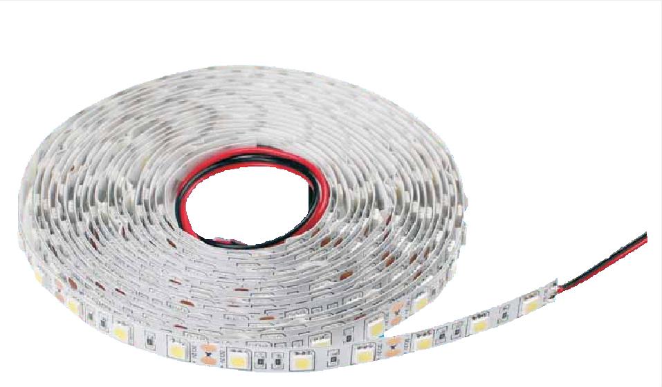 SONDERANGEBOT Lampenlux 5 Meter LED Strip Streifen Band Asaj 24V 72W/R WW IP20