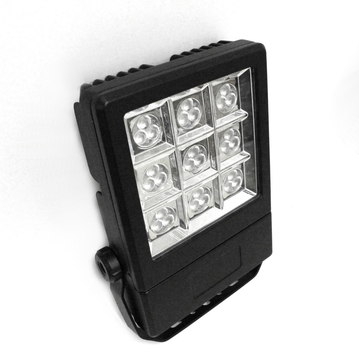 Lampenlux LED Außenleuchte Judy Aluminium Schwarz 48W LED 3500lm 3000K IP65