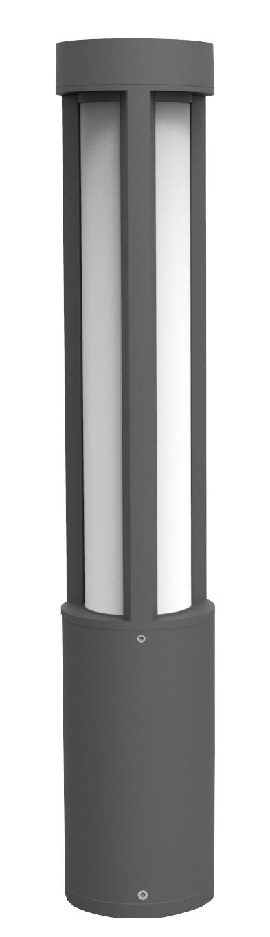 Lampenlux Außenleuchte Pollerleuchte Baleo Höhe: 80cm Ø14.5cm 12W 800lm IP54
