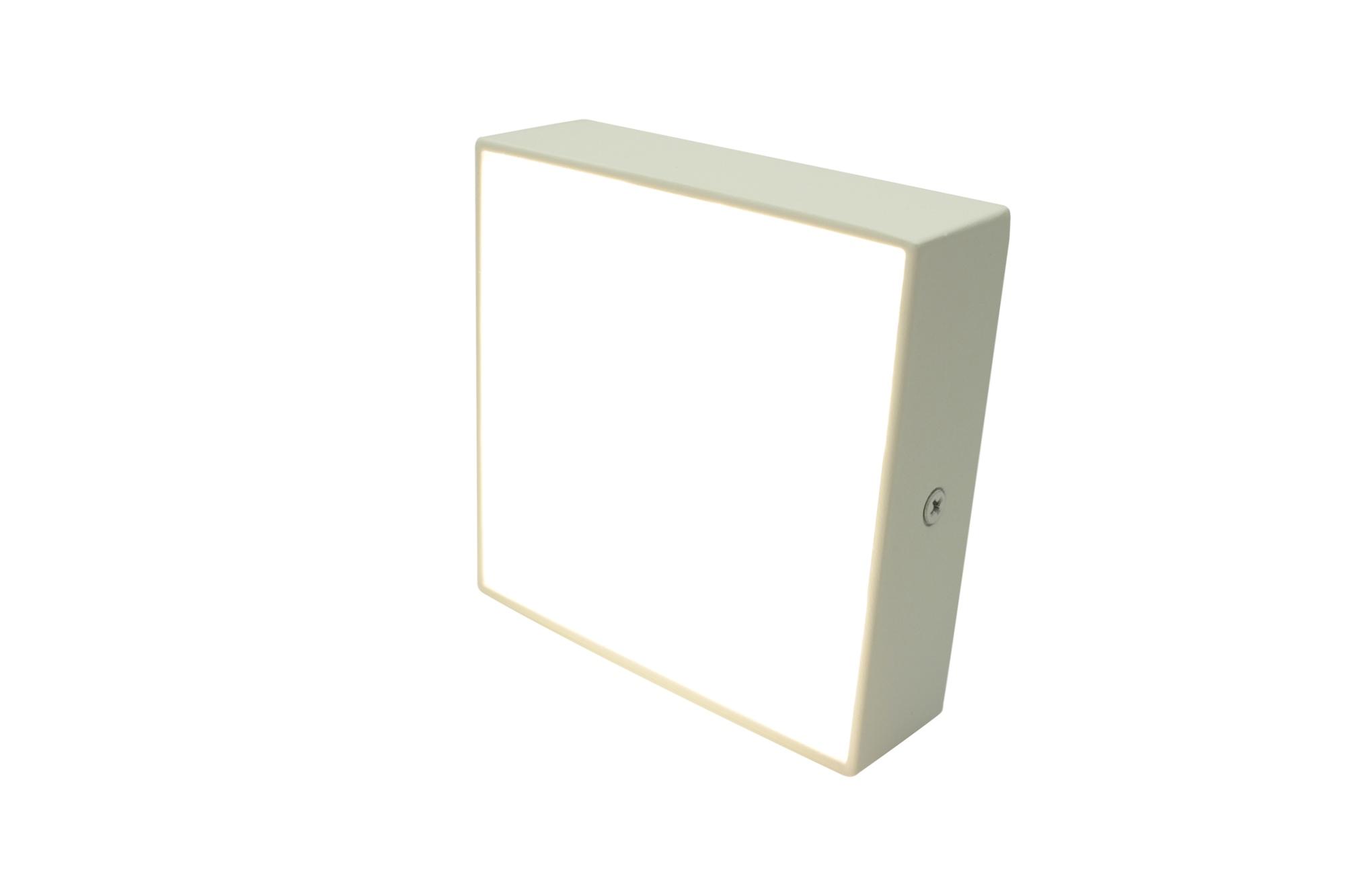 Lampenlux MINI Savona Deckenleuchte weiß LED Deckenlampe WW 120mm