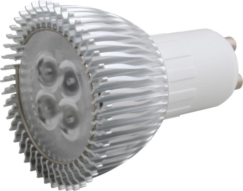 Lampenlux LED Leuchtmittel 230V GU10 4x1W tagweiß 4500-5000K dimmbar