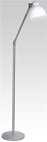 Lampenlux Stehleuchte Stehlampe Zarko Modern mit Schalter weiß schwenkbar Höhe 129cm
