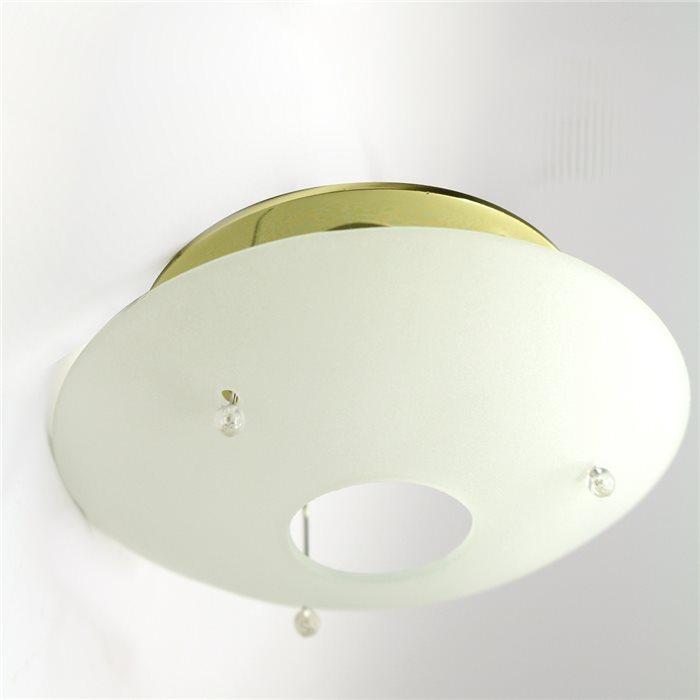 Lampenlux LED-Einbaustrahler Spot Rhea rund Glasschirm Ø11.0cm Höhe:11.0cm MR16 12V