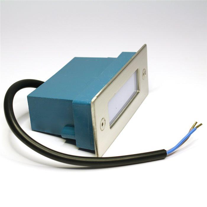 Lampenlux LED Einbaustrahler Shade Aussenleuchten 11x4cm Tagweiß Aluminium Spot