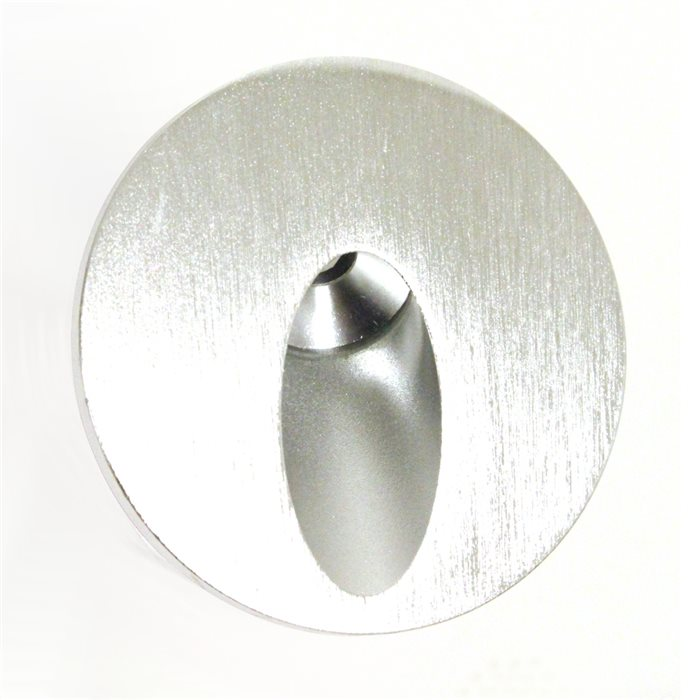 Lampenlux LED Aufbaustrahler Reika Aussenleuchte Wandlampe Ø10cm 230V Aluminium