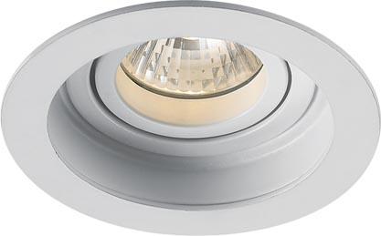 Lampenlux LED-Einbaustrahler Spot Sandi rund weiß schwarz dreh- und schwenkbar Ø10.2cm