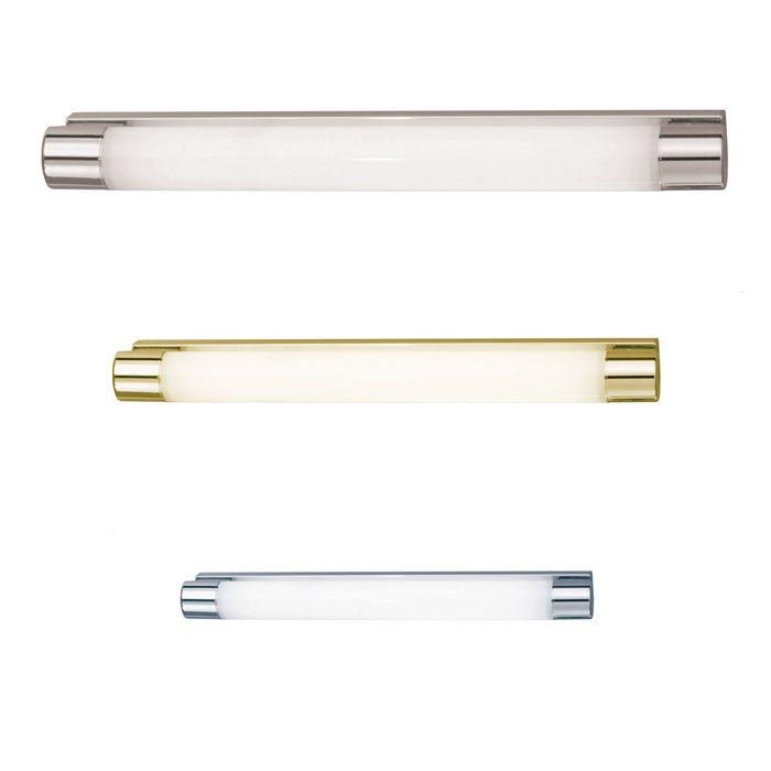 Lampenlux Wandlampe Prado Aluminium IP44 Badleuchte